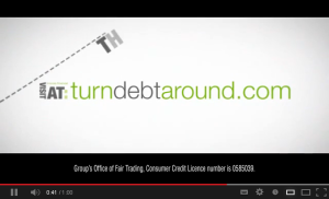 Turn Debt Around video advert