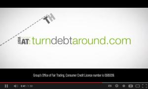 Turn Debt Around video advert